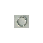 FN Jump Ring Silver pl. 12mm 50pcs